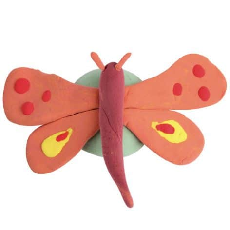 Magiclay butterfly