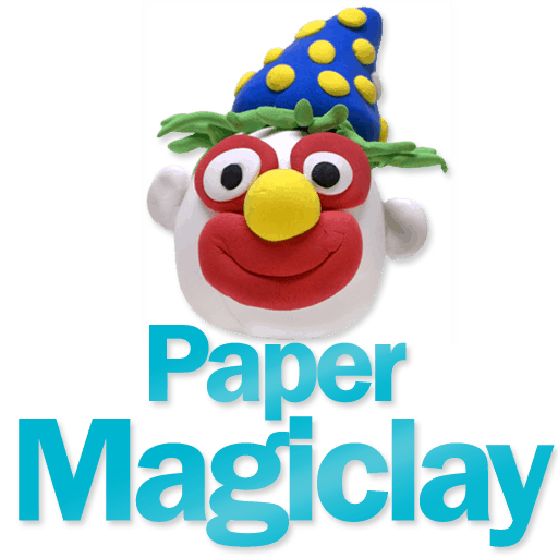 how to make paper magiclay