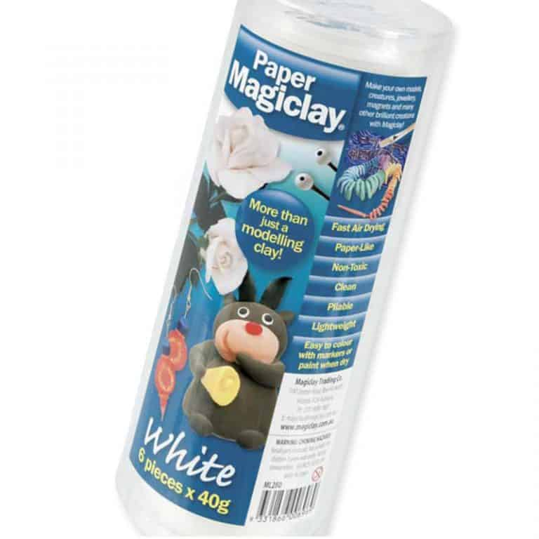 Paper Magiclay White 6 x 40g