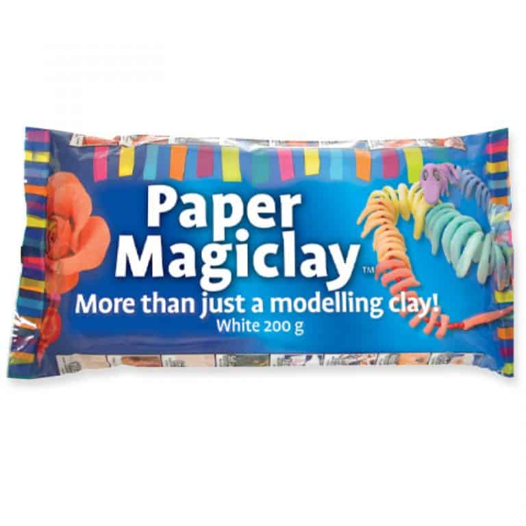 Paper Magiclay White flat pack 200g